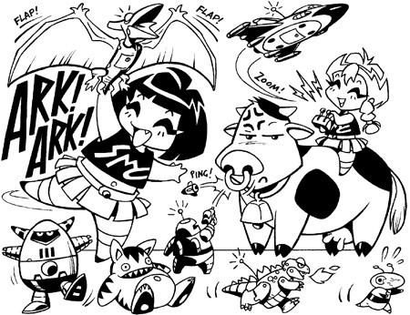 Blog o Schoolgirl Milky Crisis