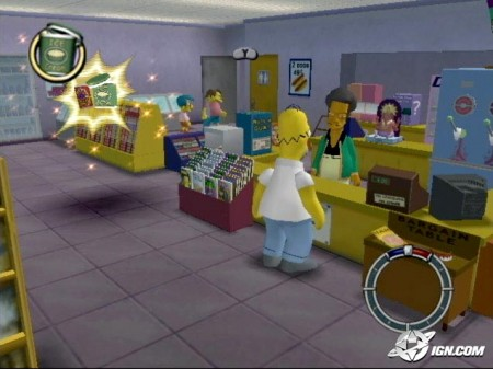 Hra The Simpsons: Hit & Run