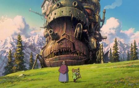 Zámek v oblacích / Howls Moving Castle